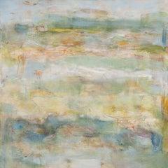 "Sky Composition II, Oil on canvas, 60"" x 60"""