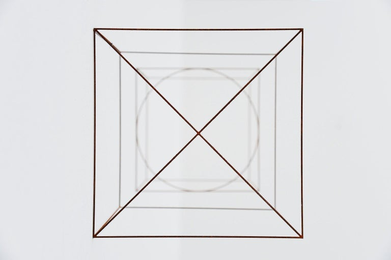 Anne Rose Regenboog Cross Circle Cubes, Den Haag 2015 In New Condition For Sale In Roosendaal, Noord Brabant