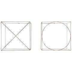 Anne Rose Regenboog Cross Circle Cubes, Den Haag 2015