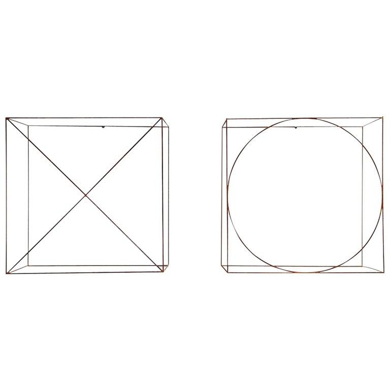 Anne Rose Regenboog Cross Circle Cubes, Den Haag 2015 For Sale