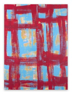 On The Ropes (Abstract painting)