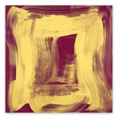 Yellow Sheen (Abstract painting)