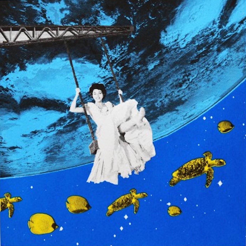 Anne Storno, Aquarium, Limited Edition Prints, Surrealist Screen Print, Pop Art