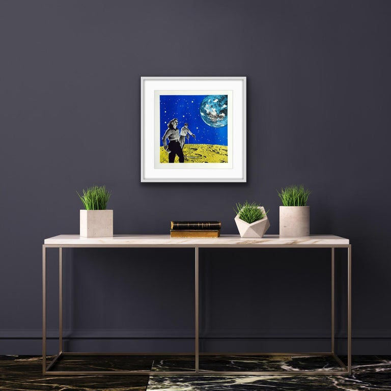 Anne Storno, Space Hiking, Limited Edition Print, Space Print, Affordable Art For Sale 7