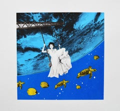 Aquarium BY ANNE STORNO, Limited Edition Pop Art Prints, Surrealist Screen Print