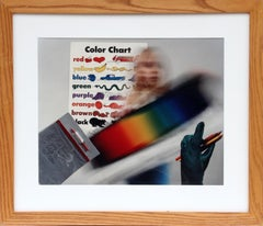 """""""Color Chart"""", 1982, Color Photograph by Anne Turyn"""