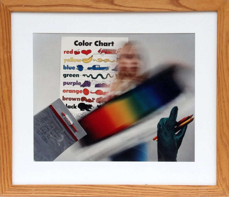 Anne Turyn Color Chart 1982 Color Photograph By Anne Turyn