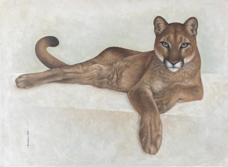 Annick Biaudet  The Eyes Reflect the Soul  Annick Biaudet is without doubt, one of the best to depict it… Morateur gallery is proud to exclusively represent this talented Artist throughout her wildlife adventures…  Oil and acrylic on canvas