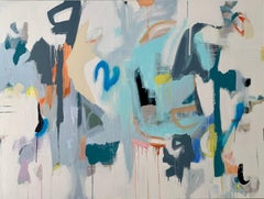 Anything You Want Abstract original painting Contemporary Art -21st Century
