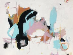 As Sweet as Honey by Annie King, Large Abstract Mixed Media on Canvas Painting