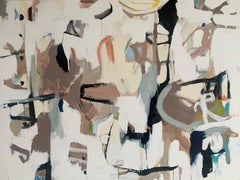 Duchess by Annie King, Large Abstract Canvas Painting