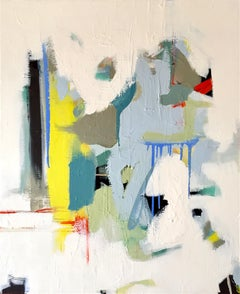 Its a New day I Abstract original painting Contemporary Art -21st Century