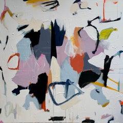 Morphosis VI - Abstract mixed media paint modern contemporary art 21st Century
