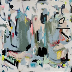 Replenishing Reserves by Annie King, Large Abstract on Canvas Painting