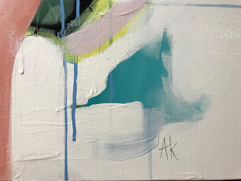 Set Apart by Annie King, Large Abstract Mixed Media on Canvas Painting For Sale 2