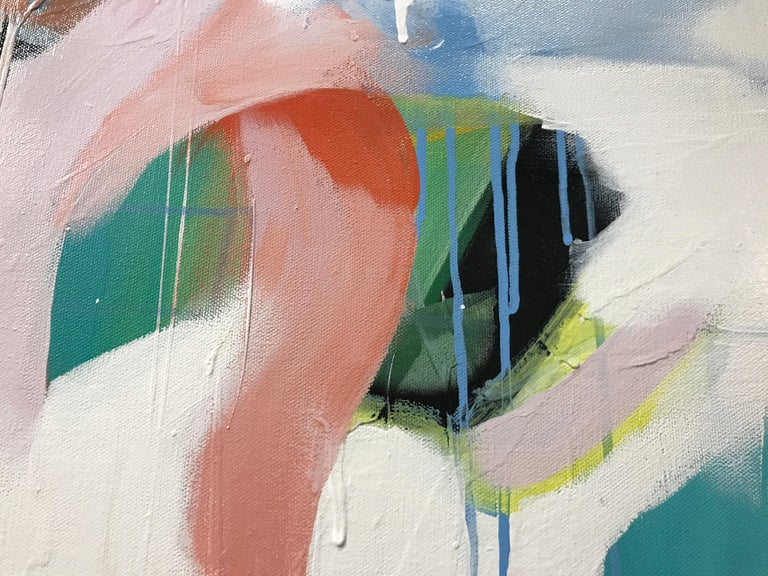 Set Apart by Annie King, Large Abstract Mixed Media on Canvas Painting For Sale 3
