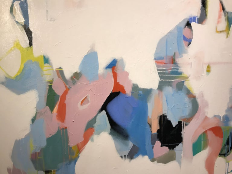 Set Apart by Annie King, Large Abstract Mixed Media on Canvas Painting For Sale 4