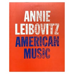 Annie Leibovitz American Music, Photography Book