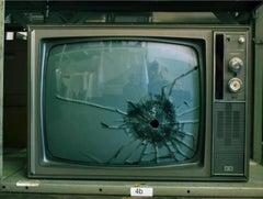 Elvis Presley's TV, Graceland, Memphis, Tennessee, 2011