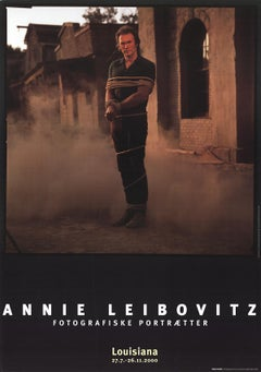 "Annie Leibovitz-Clint Eastwood-39.5"" x 27.5""-Poster-2000-Photography-Brown"