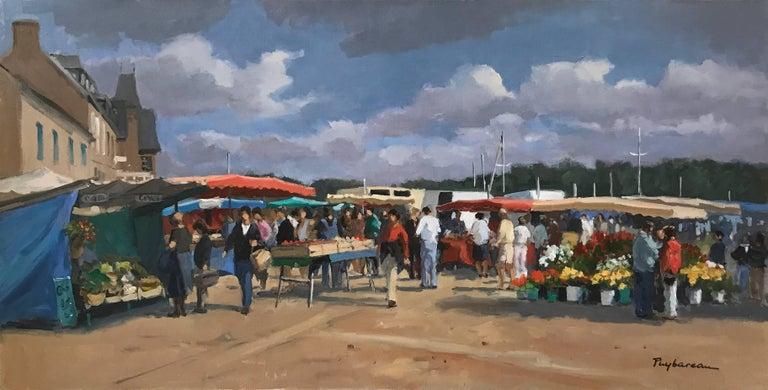 Annie Puybareau Portrait Painting - Marche  (Market)