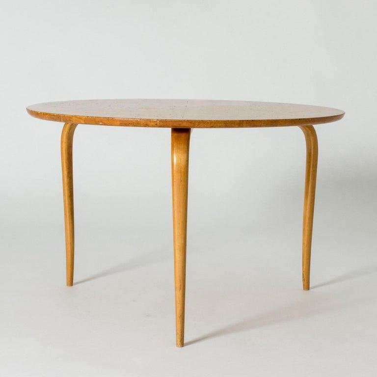 "Scandinavian Modern ""Annika"" Coffee Table by Bruno Mathsson For Sale"