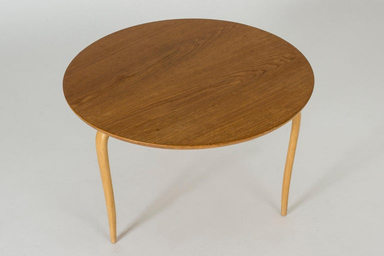 "Scandinavian Modern ""Annika"" Side or Coffee Table by Bruno Mathsson For Sale"