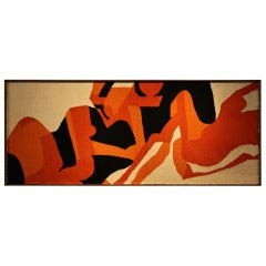 Anonymous Abstract Tapestry, circa 1970
