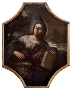 Allegory of Purity  - Oil on Canvas by Anonymous Neapolitan School 1600