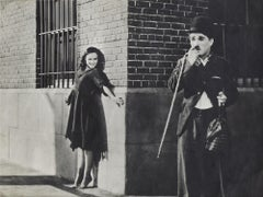 Charlie Chaplin - Original Vintage Photo - 1930s