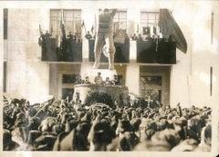 Filippo Corridoni Celebrations - Original Vintage Photo - 1930s
