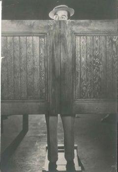 Gene Kelly Behind the Doors - Original Vintage Photo - 1930s