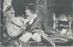 "Photo of Ben Turpin and Thelma Hill, probably from ""A Prodigal Bridegroom"" 1926"