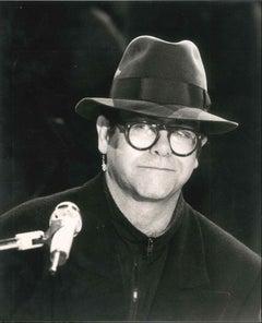 Portrait of Elton John - Original photo - 1970s