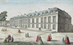 Chateau De Choisy - Original Etching 18° Century