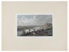 Coblenz - Original Lithograph Mid 19° Century