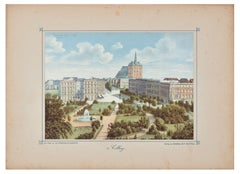 Colberg - Original Lithograph Mid 19° Century