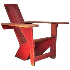 Original Westport Chair by Harry Bunnell, 1905