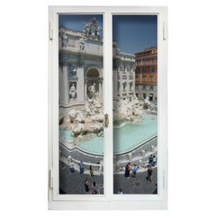 Anotherview No 21: Trevi Fountain a Few Days after Lockdown by Anotherview