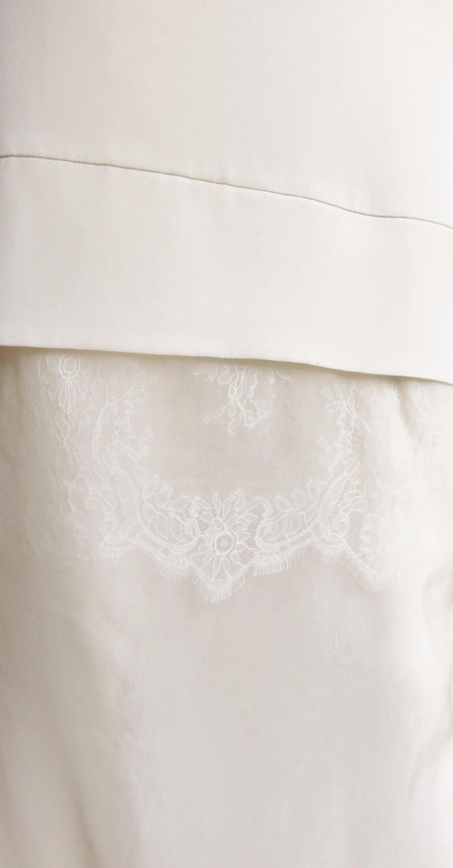 Anotnio Berardi New Off White Silk Maxi Gown  For Sale 6