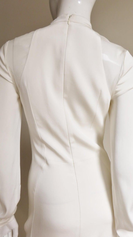 Anotnio Berardi New Off White Silk Maxi Gown  For Sale 12