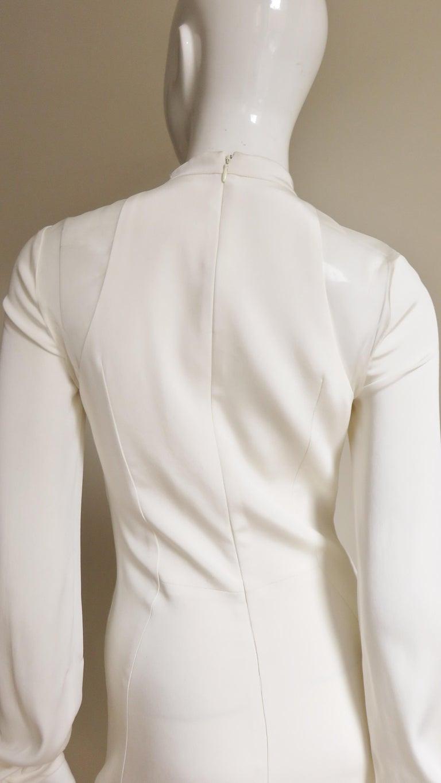 Anotnio Berardi New Off White Silk Maxi Gown  For Sale 13