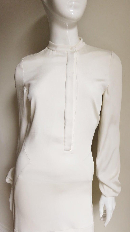 Anotnio Berardi New Off White Silk Maxi Gown  For Sale 3