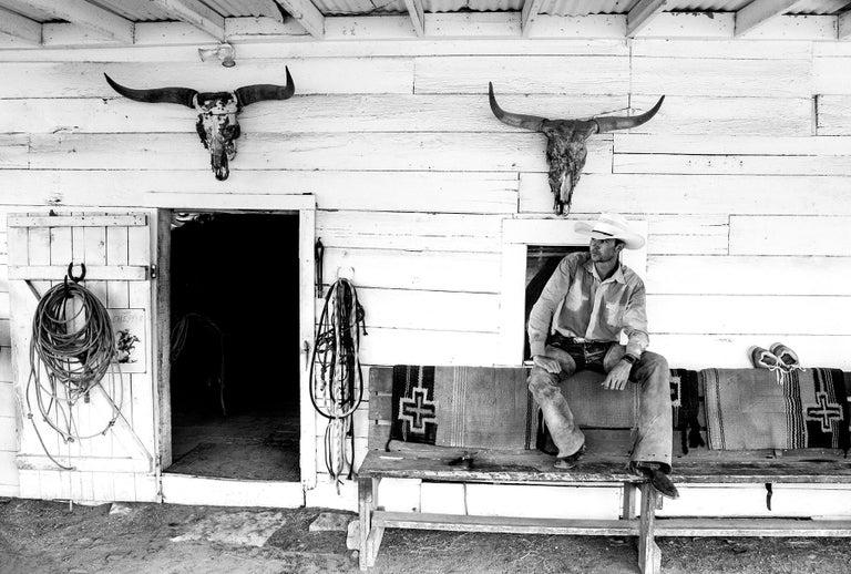 Anouk Krantz Black and White Photograph - Wrangler