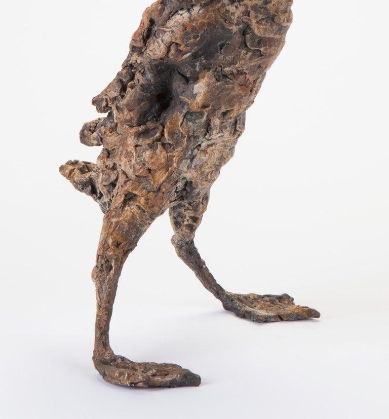 ''Quacking Duck'', Contemporary Bronze Sculpture Portrait of a Duck For Sale 3