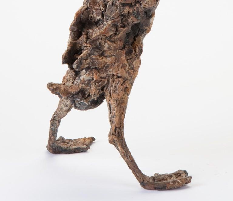 ''Quacking Duck'', Contemporary Bronze Sculpture Portrait of a Duck For Sale 4