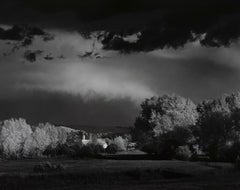Ansel Adams. Autumn Storm, Las Trampas, Near Penasco, New Mexico