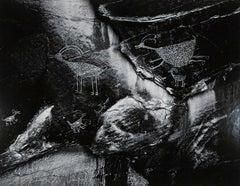 Ansel Adams. Petroglyphs, Monument Valley, Utah 1958