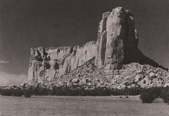 Ansel Adams. The Enchanted Mesa [Acoma, New Mexico]