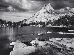 Cathedral Peak and Lake, Yosemite National Park, CA